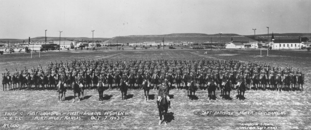 Fort Riley 1943 C Troop